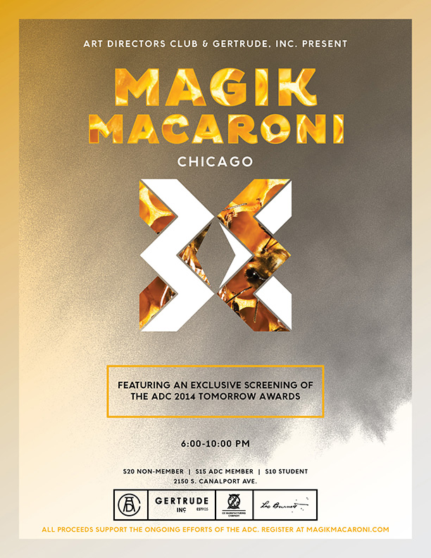 Oz Mfg. Company ADC Magik Macaroni Poster Tomorrow Awards